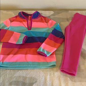 Girls fleece outfit